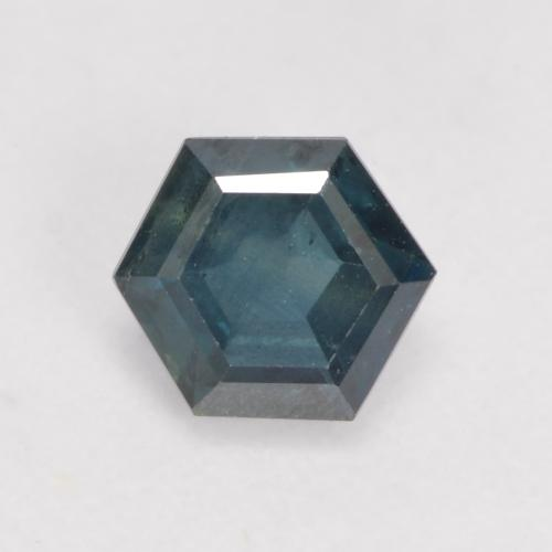Multicolor Sapphire Gem - 0.5ct Hexagon Cut (ID: 534365)