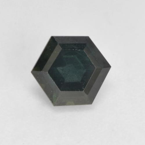 Multicolor Sapphire Gem - 0.7ct Hexagon Cut (ID: 534370)
