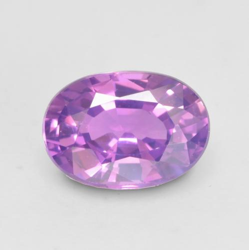 Medium Purple Zafiro Gema - 0.7ct Forma ovalada (ID: 534729)