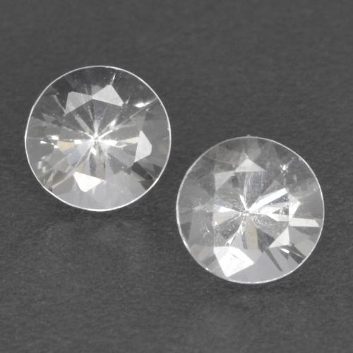 White Sapphire Gem - 0.4ct Diamond-Cut (ID: 534928)