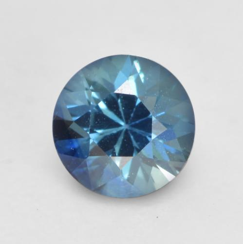 Navy Blue Sapphire Gem - 0.4ct Diamond-Cut (ID: 534940)