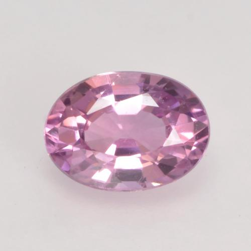 Very Light Pink Sapphire Gem - 0.6ct Oval Facet (ID: 535394)