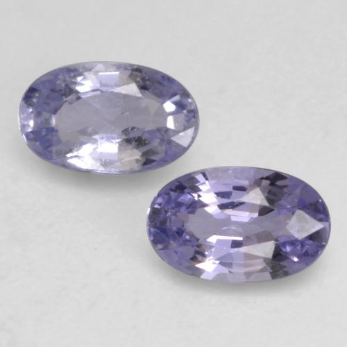 Medium-Light Violet Zafiro Gema - 0.3ct Forma ovalada (ID: 536650)
