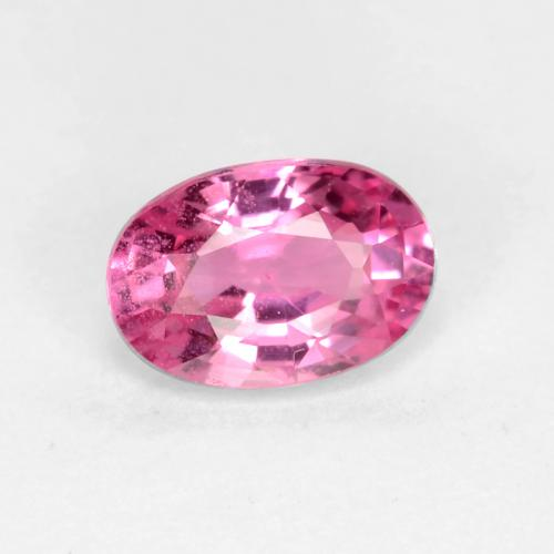 Sapphire Faceted 12 Pcs Lot High Quality Gemstone. NATURAL Pink Sapphire Cut Gemstone Oval Shape Lot Size 6x4 mm AAA