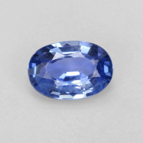 Medium Dark Blue Zafiro Gema - 0.6ct Forma ovalada (ID: 539715)