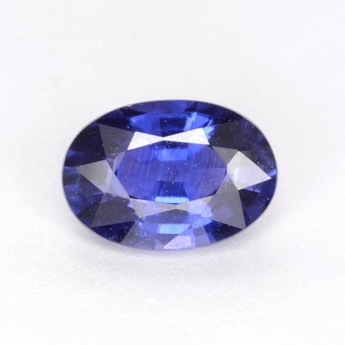 Cornflower Blue Sapphire Gem - 0.7ct Oval Facet (ID: 539986)