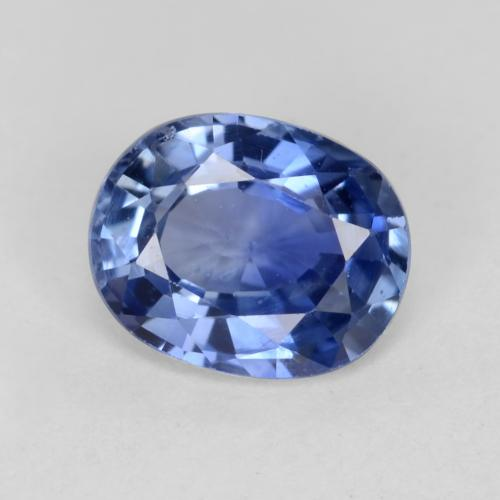 Medium Dark Blue Zafiro Gema - 0.8ct Forma ovalada (ID: 541706)