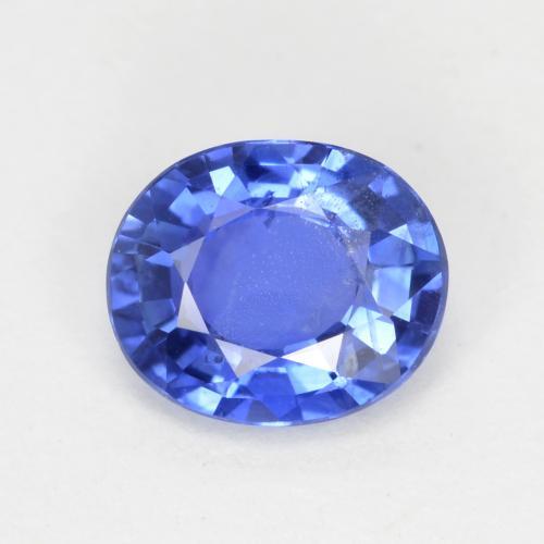 Loose Gemstone  E-49 42x30x5 mm Blue Quartz Cabochon  Unique Blue Quartz Gemstone  Freeform Shape  47.50 Ct