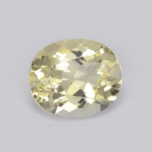 thumb image of 1.9ct Oval Facet Yellow Scapolite (ID: 469446)