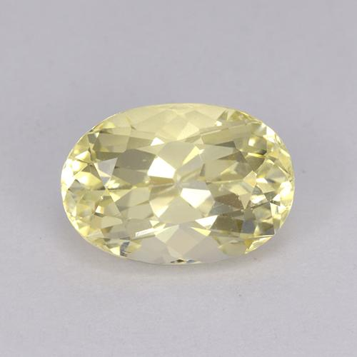 2.19 ct Oval Facet Yellow Scapolite Gemstone 9.82 mm x 6.8 mm (Product ID: 470181)