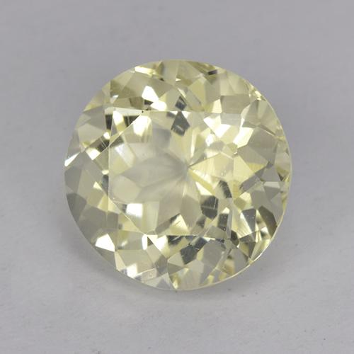 1.8ct Round Facet Yellow Scapolite Gem (ID: 470186)