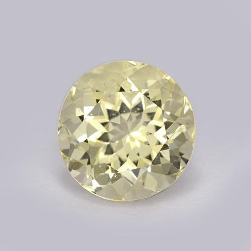 Yellow Scapolite Gem - 2.2ct Round Facet (ID: 470189)