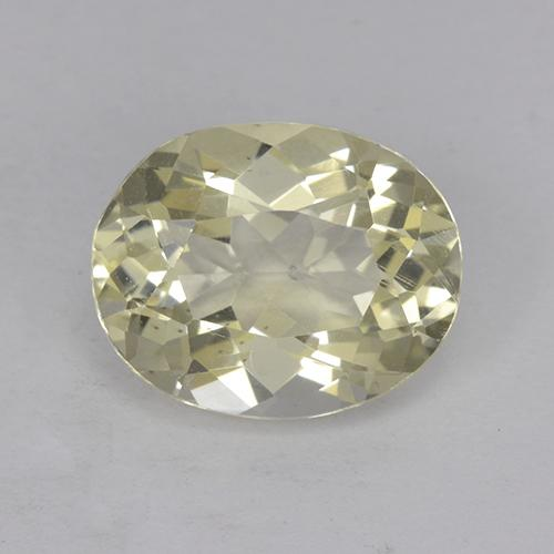 Yellow Scapolite Gem - 1.9ct Oval Facet (ID: 470388)