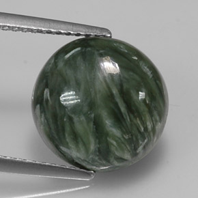 Buy 4.98 ct Green Seraphinite 12.08 mm  from GemSelect (Product ID: 314276)