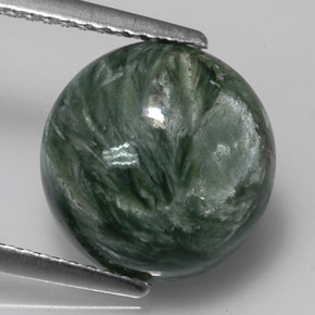 Buy 4.10 ct Green Seraphinite 11.44 mm  from GemSelect (Product ID: 314359)