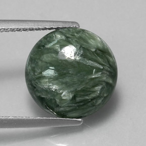 Buy 5.12ct Green Seraphinite 11.92mm  from GemSelect (Product ID: 317330)