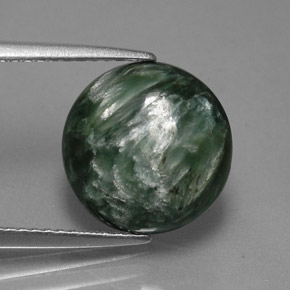 Buy 4.24 ct Green Seraphinite 11.61 mm  from GemSelect (Product ID: 317331)
