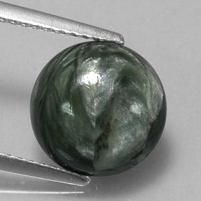 Buy 3.36 ct Green Seraphinite 10.34 mm  from GemSelect (Product ID: 317342)