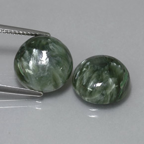 Buy 9.17 ct Green Seraphinite 11.94 mm  from GemSelect (Product ID: 323828)
