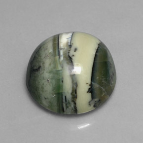 Buy 7.52ct Yellowish Green Serpentine 13.18mm  from GemSelect (Product ID: 303608)