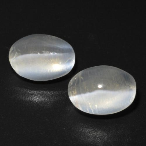 Smoke Sillimanite Cat's Eye Gem - 1.2ct Oval Cabochon (ID: 474172)