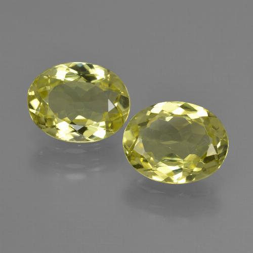 Lemon Yellow Silimanita Gema - 1.7ct Forma ovalada (ID: 411269)