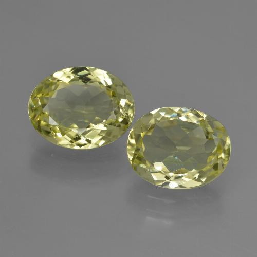 2.4ct Oval Facet Green Yellow Sillimanite Gem (ID: 411270)