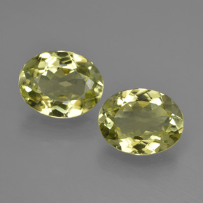 2.4ct Oval Facet Green Yellow Sillimanite Gem (ID: 411271)