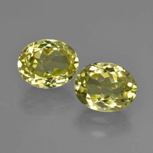 2ct Oval Facet Green Yellow Sillimanite Gem (ID: 411272)