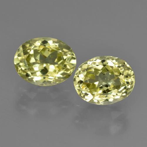 2.4ct Oval Facet Green Yellow Sillimanite Gem (ID: 411273)
