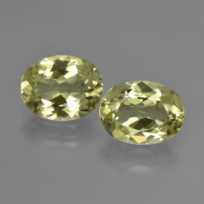 2.4ct Oval Facet Medium Yellow Sillimanite Gem (ID: 411277)