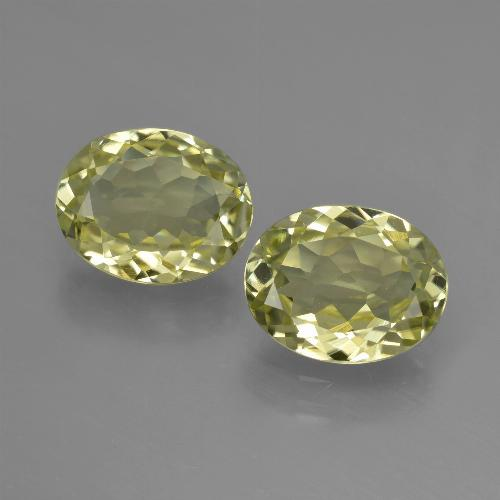 Medium Yellow Sillimanite Gem - 2ct Oval Facet (ID: 411280)