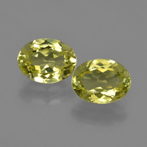 1.7ct Oval Facet Medium Yellow Sillimanite Gem (ID: 411293)