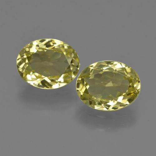 Earthy Yellow Sillimanite Gem - 1.8ct Oval Facet (ID: 411294)