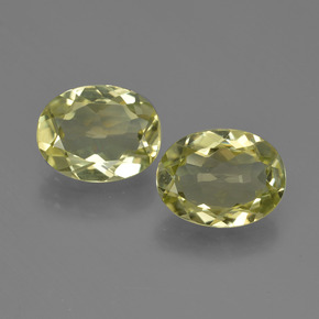 1.4ct Oval Facet Medium Yellow Sillimanite Gem (ID: 411295)