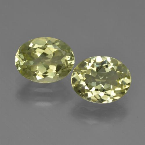 1.9ct Oval Facet Medium Yellow Sillimanite Gem (ID: 411296)