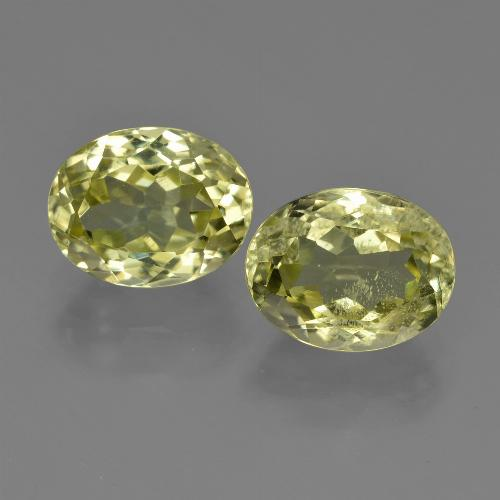 2.4ct Oval Facet Medium Yellow Sillimanite Gem (ID: 411298)