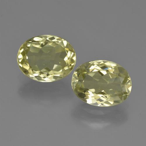 1.9ct Oval Facet Medium Yellow Sillimanite Gem (ID: 411299)