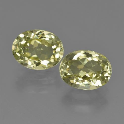 Green Yellow Sillimanite Gem - 2.1ct Oval Facet (ID: 411300)