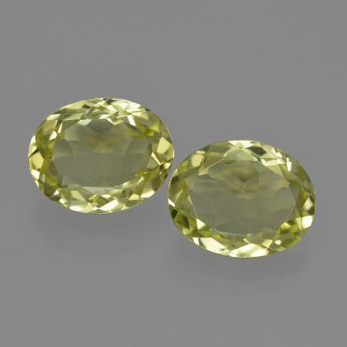 1.7ct Oval Facet Greenish Yellow Sillimanite Gem (ID: 411371)