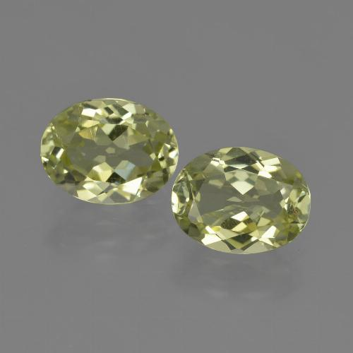 1.7ct Oval Facet Yellow Green Sillimanite Gem (ID: 411373)