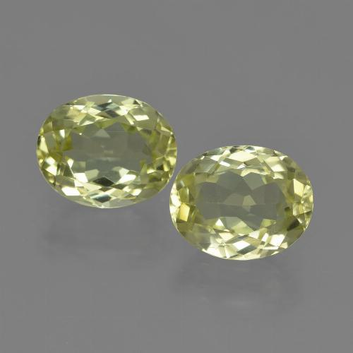 2ct Oval Facet Medium Yellow Sillimanite Gem (ID: 411375)