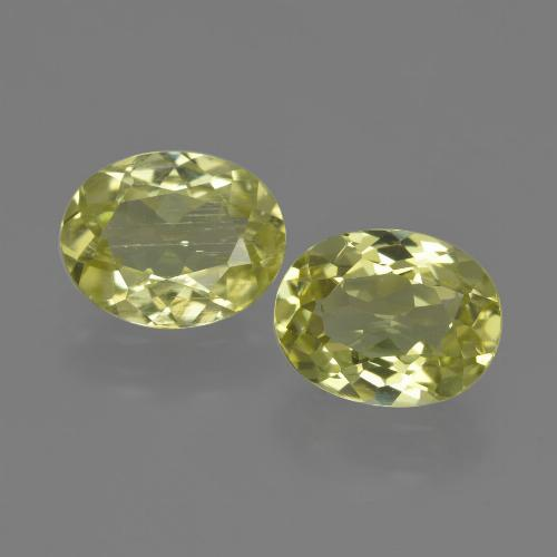 Green Yellow Sillimanite Gem - 1.7ct Oval Facet (ID: 411376)
