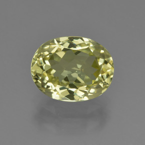 3ct Oval Facet Medium Yellow Sillimanite Gem (ID: 411429)