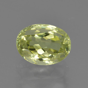 1.8ct Oval Facet Medium Yellow Sillimanite Gem (ID: 411521)