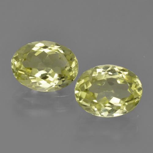 1.5ct Oval Facet Medium Yellow Sillimanite Gem (ID: 411619)