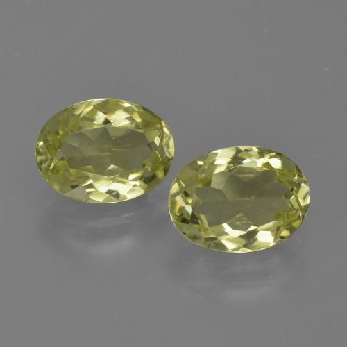 1.3ct Oval Facet Medium Yellow Sillimanite Gem (ID: 411620)