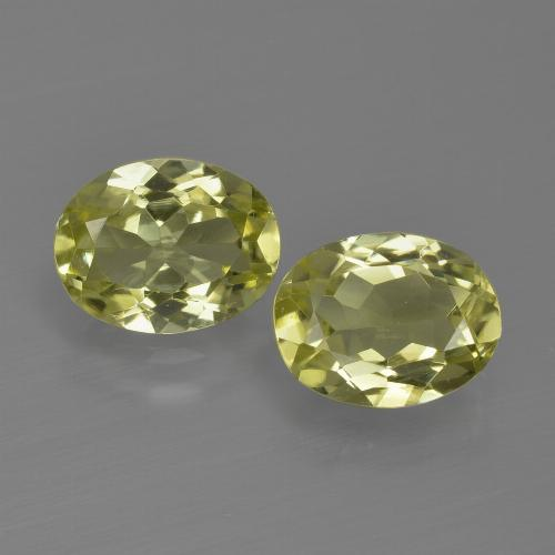 1.2ct Oval Facet Greenish Yellow Sillimanite Gem (ID: 411621)