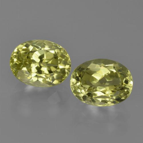 Greenish Yellow Sillimanite Gem - 1.7ct Oval Facet (ID: 411622)