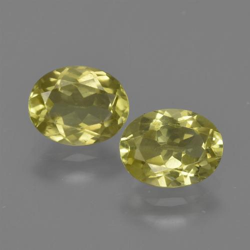 1.3ct Oval Facet Medium Yellow Sillimanite Gem (ID: 411625)